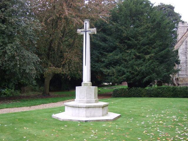 War Memorial, St.John the Baptist's Church, Scampton