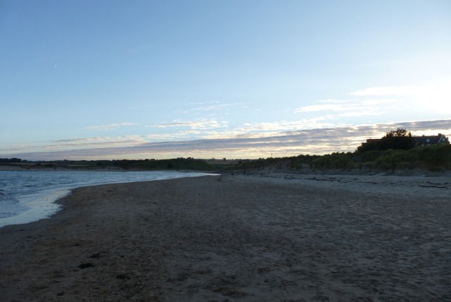 Beach at Alnmouth