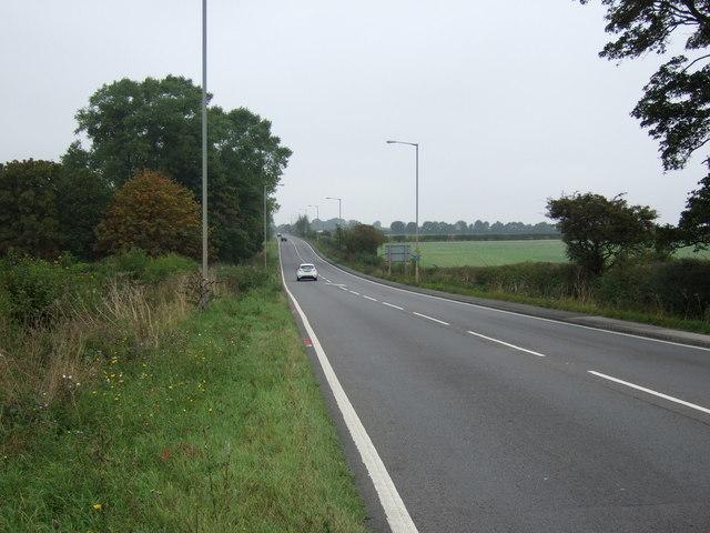 A15 heading north