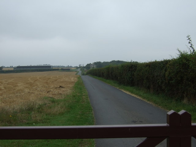 Track to Cliffe Farm