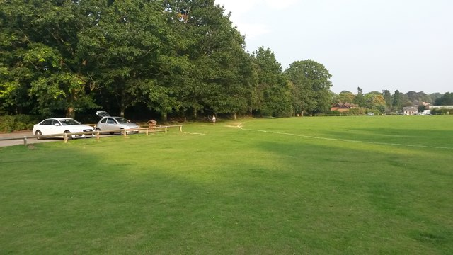 Recreation ground at Ottershaw