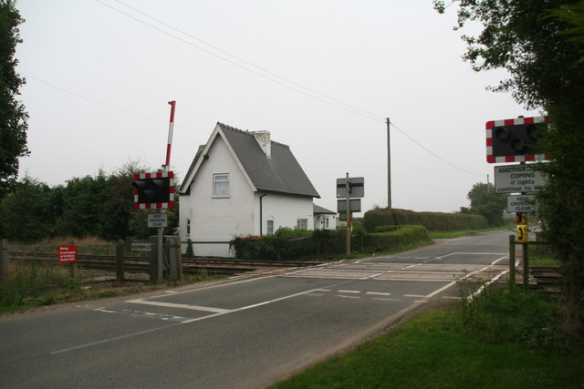 Scothern Level Crossing