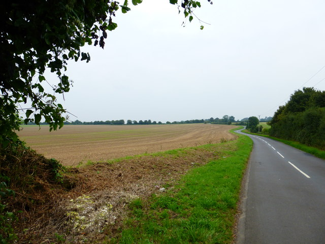 Cemetery Hill looking towards Odiham