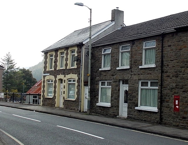 Southern end of Gloucester Buildings, Pant-y-Gog
