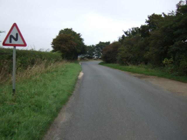 Bends in Horncastle Lane