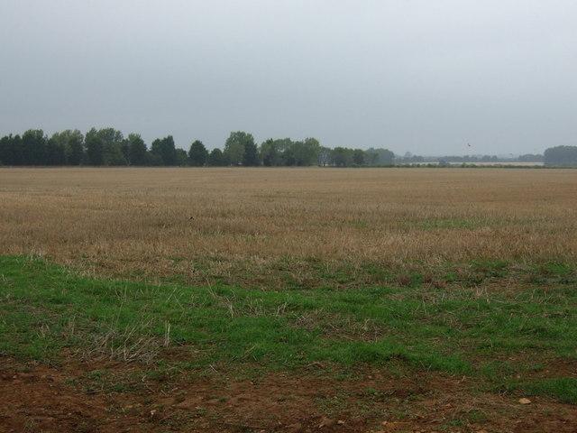 Stubble field off Horncastle Lane