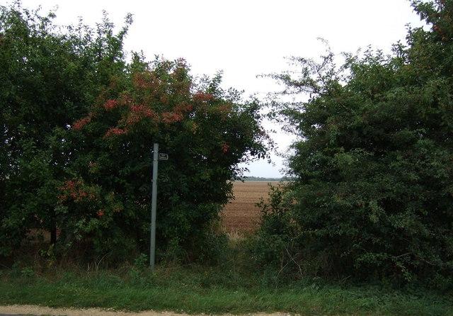 Footpath off Horncastle Lane