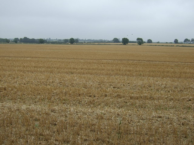 Stubble field near Dunholme