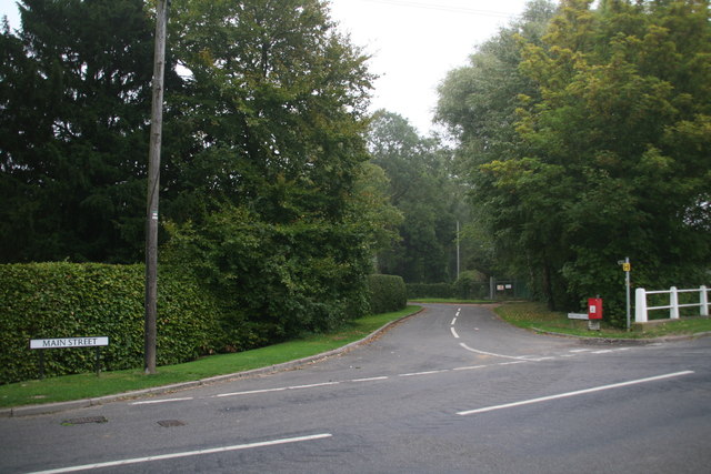 Scothern: Northing Lane, leading off Main Street