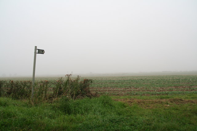 Don't get lost: through the mist to Dunholme