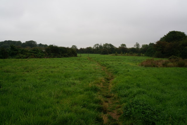 Footpath leading to Eastfield Farm