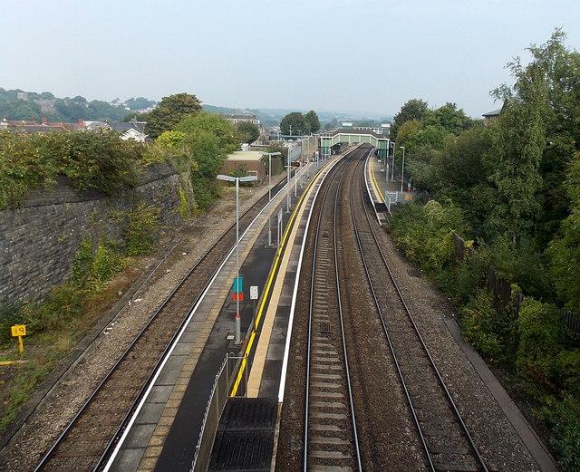 Bridgend railway station