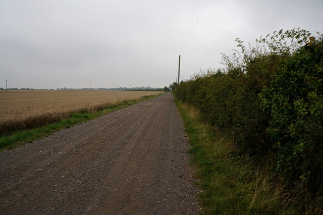 Track leading to Eastfield Farm, Holton le Clay
