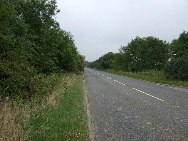 A46 towards Market Rasen