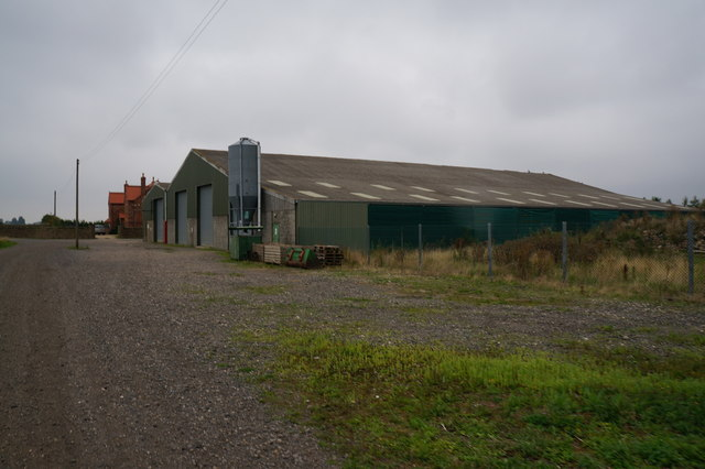 Buildings at Eastfield, Holton le Clay