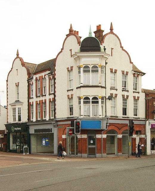 Victoria Road/High Street junction, Horley