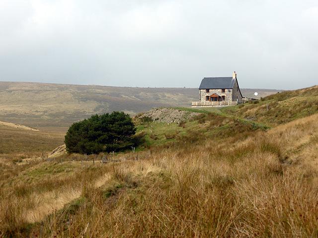 Llechwedd-mawr farmhouse