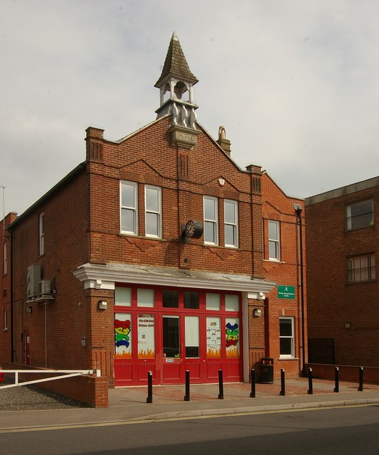 Former fire station, Horley