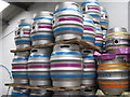 SK3489 : Casks at Blue Bee Brewery : Week 36
