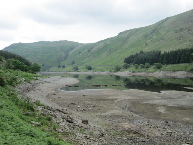 Low water level, Haweswater