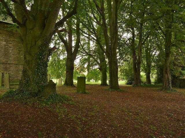 All Saints' churchyard, South Leverton