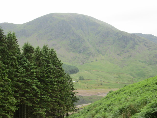 Harter Fell above Haweswater