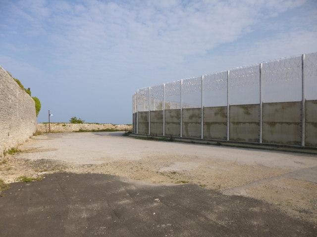 Grove, security fence
