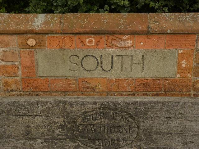 South Leverton Millennium Monument (detail)