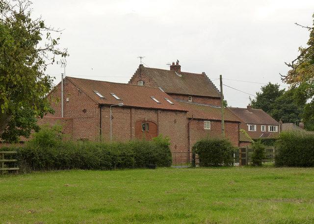 Buildings at Church Farm
