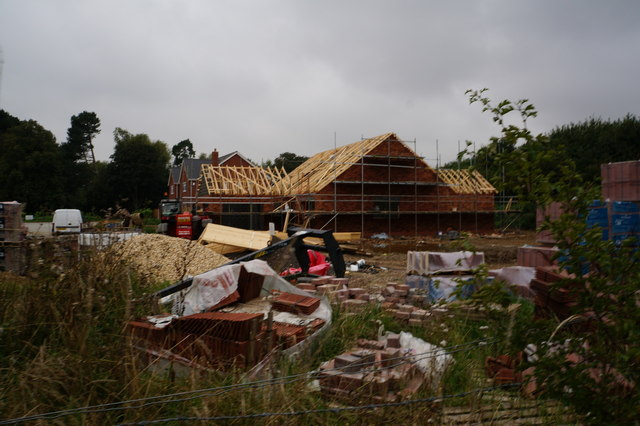 House building off Humberston Avenue