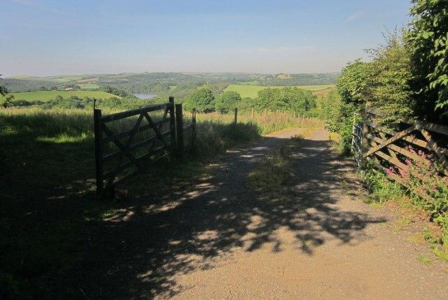 Farm track, Trevollard