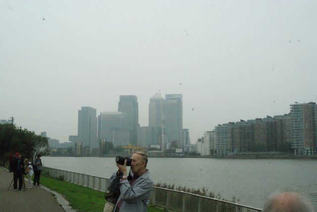 View of Canary Wharf from the Greenwich Peninsula #3