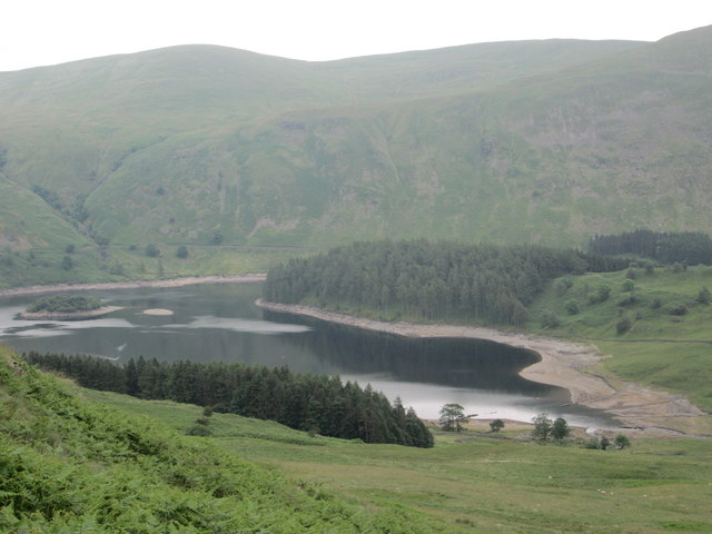 Haweswater from the lower slopes of Kidsty Howes