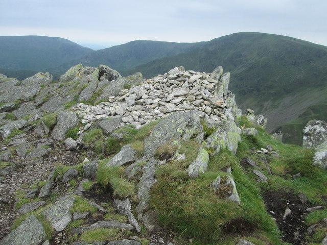 Kidsty Pike summit rocks