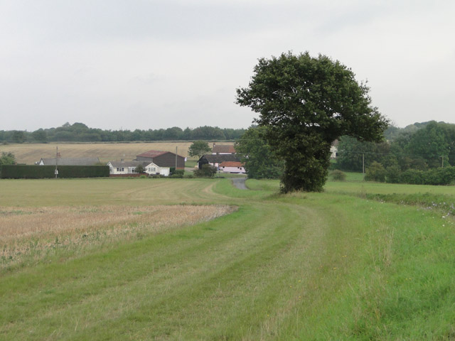The hamlet of Stanton Chare