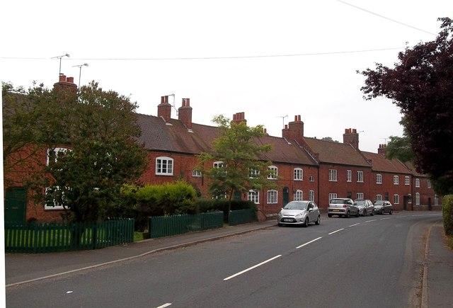 Row of Estate Cottages in Sudbury