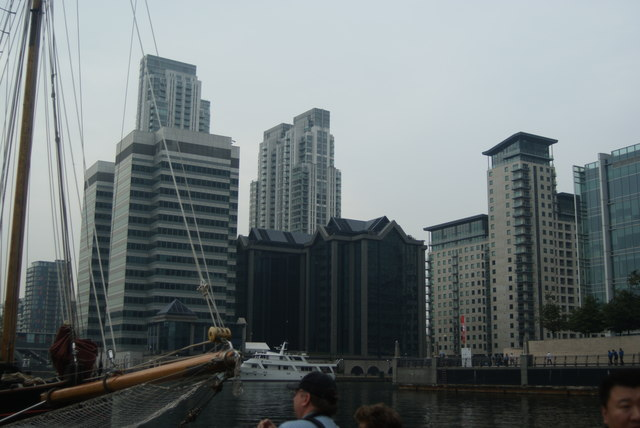 View of 10 Upper Bank Street from Wood Wharf #3