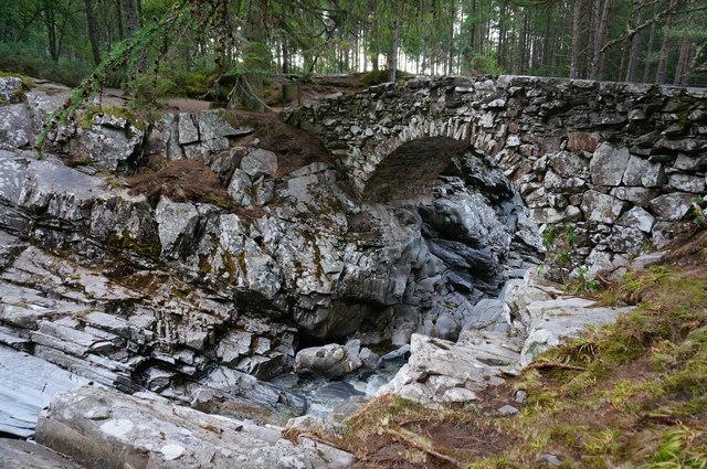 Lower bridge, Falls of Bruar