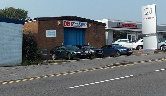 DBS Paint Factors, Bridgend