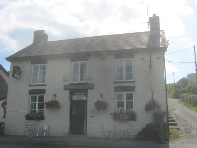 Wheatsheaf Arms at Erwood