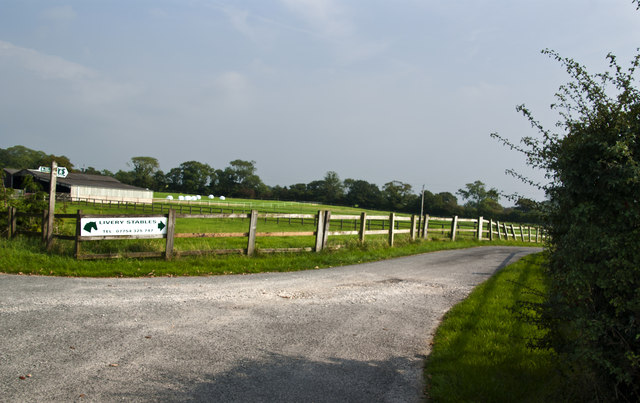 Footpath and access to livery stables