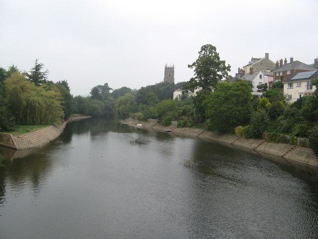 River Exe, Tiverton
