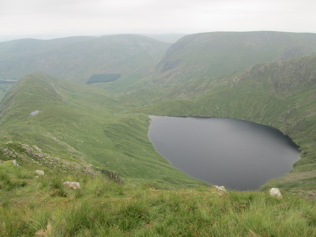 Looking down on Blea Water from High Street