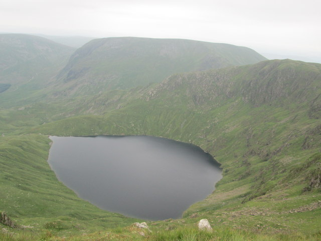 Blea Water, the deepest tarn in the Lake District