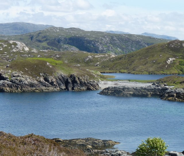 View across Loch na Mola