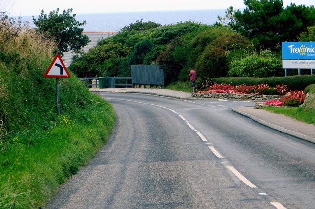Approaching Holywell