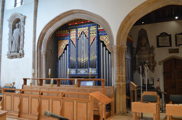 Chancel Organ, Chelmsford Cathedral