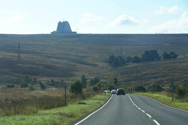 The A169 above Eller Beck