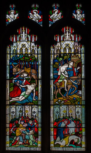 Stained glass window, Chelmsford Cathedral