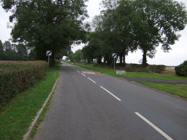 National Cycle Route 1 leaving Scothern